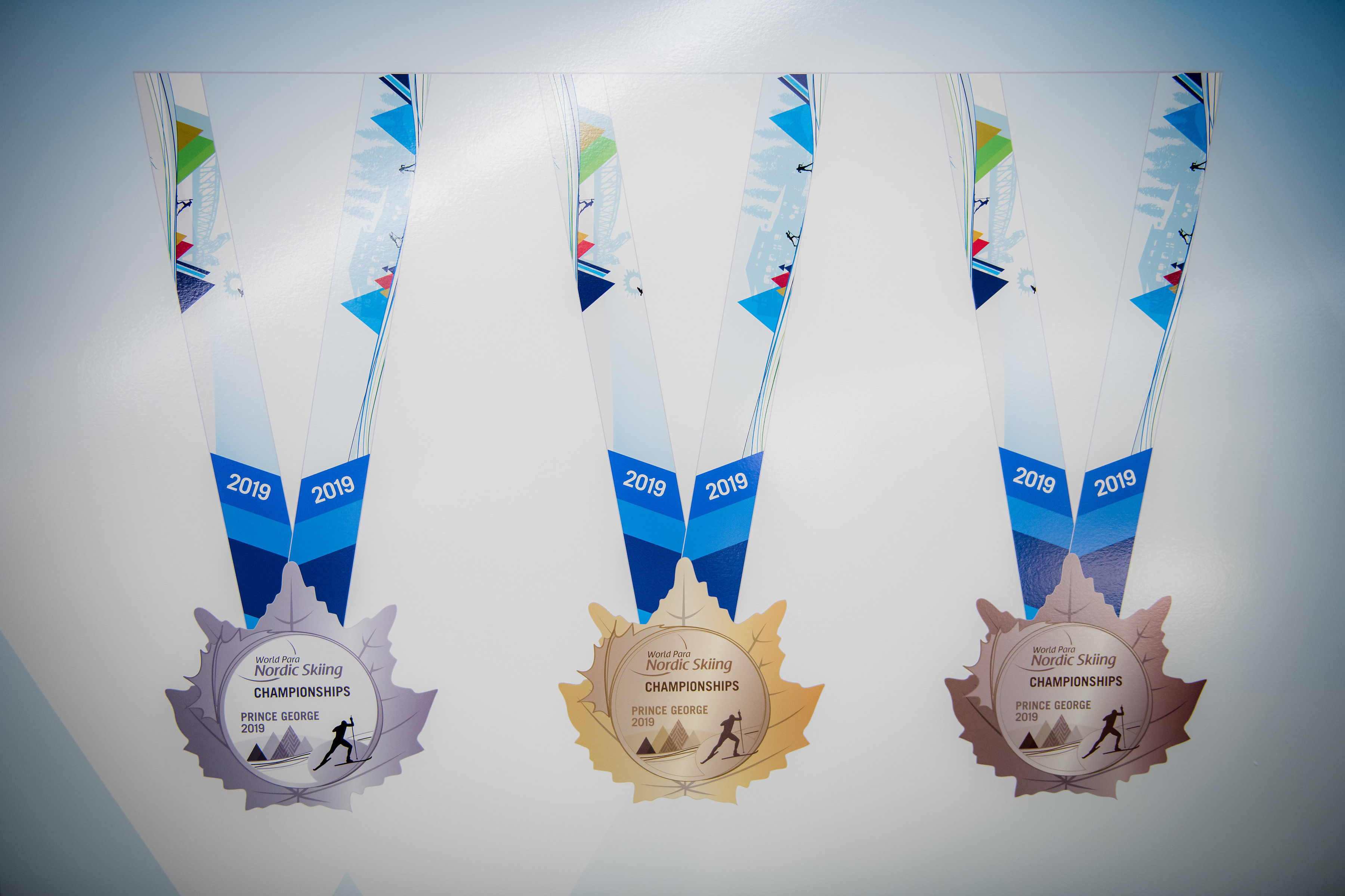 The medals for the 2019 World Para Nordic Championships