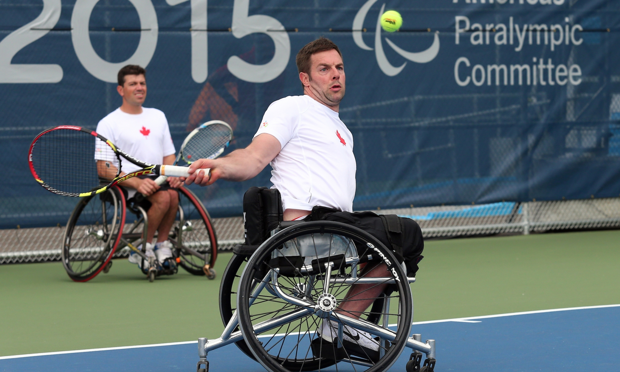 Wheelchair tennis at the ParaPan Ams in Toronto